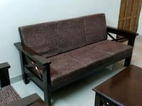 As good as new , customized semi teak wood sofa se Bengaluru, 560102