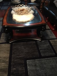 Brown wooden coffee table Calgary, T2A 2X5