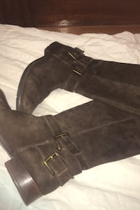 Leather boots x2: Clarks Brown Suede Boots & Steve Madden size 9 Providence, 02906