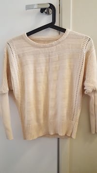 Beige sweater size s