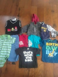 toddler's assorted clothes Caledonia, 49316
