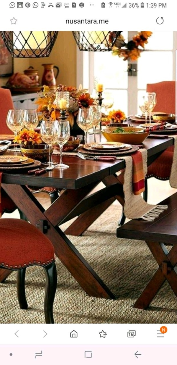 Magnificent Pier 1 Dining Table With Bench Ocoug Best Dining Table And Chair Ideas Images Ocougorg