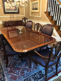Classic Formal Dining Table and Server null