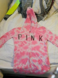pink and white pullover hoodie Tacoma, 98408