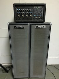 Vintage Sunn Mixer Amp and Traynor Cabinets