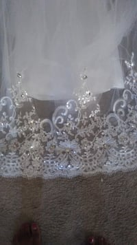 clear glass floral embossed candle holder Sacramento