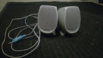 HP Polk audio PC speakers long cable