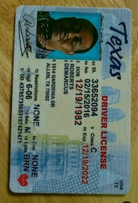 Buy register Texas driving license Frisco