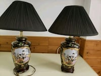 Table lamps set, real authentic China design Mississauga, L5M 0A5