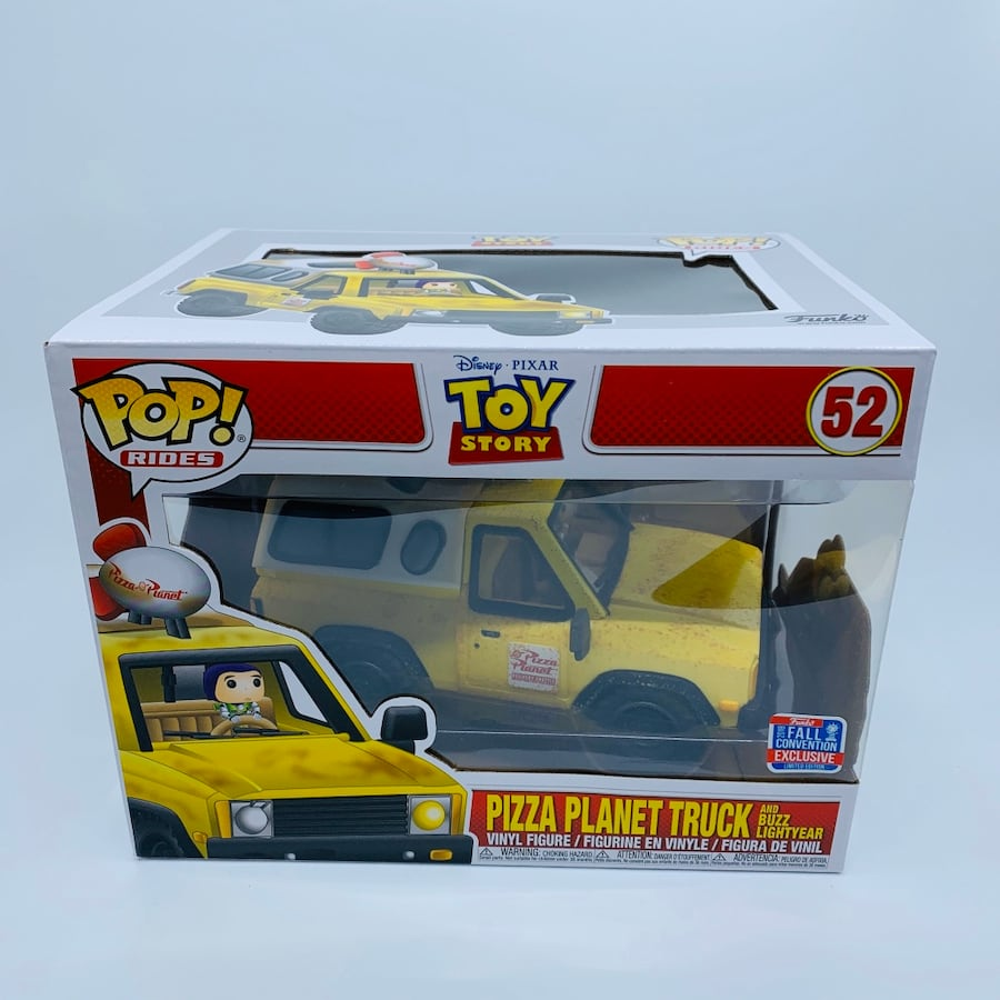 Funko Pop Rides - Toy Story Pizza Planet Truck #52