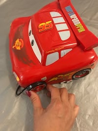 red and white ride-on toy car 馬卡姆, L3S 3M6