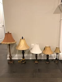 Lamps with cloth shades Durham, 27703