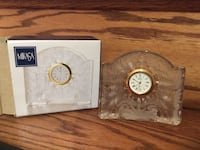 Mikasa glass mantle clock Toronto, M2M 1Z7