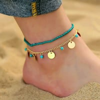 2 piece anklet green Airdrie, T4B 3C5