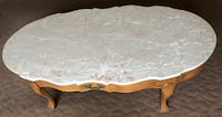Real Marble Vintage Coffee Cocktail Table antique S CHEEK, 14227