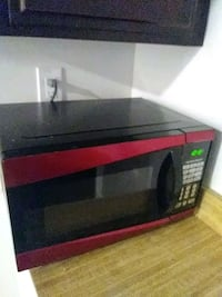 black and red microwave oven Los Angeles