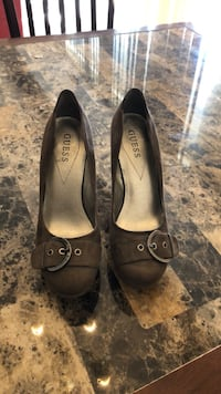 pair of black leather flats Capitol Heights, 20743