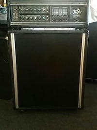 black and gray electric guitar amplifier Los Angeles, 90043