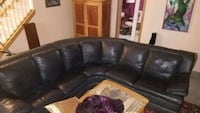 3 piece high end italian leather sectional    Woodbury, 55125