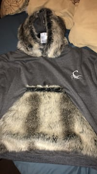 Custom 1 of 1 hoody made by Big Meech wifey real fur  Markham, L6E 1R7