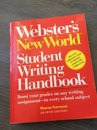 Student Writing Handbook Newmarket, L3Y 2H9