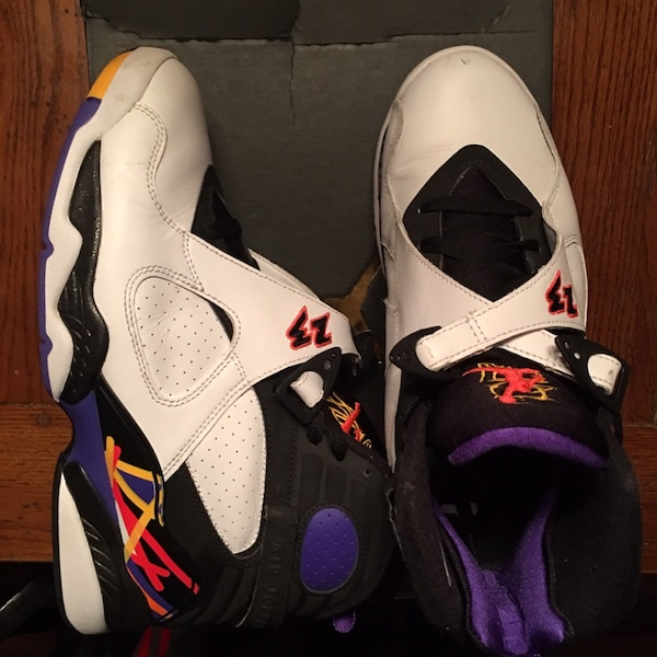 835505b8a727 Used Jordan 8 (3 peat) for sale in Middletown - letgo