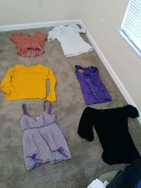shirts $30 all negotiable..small except the bl Wesley Chapel, 33543