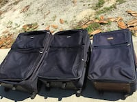 Two blue  luggage bags Grifton, 28530