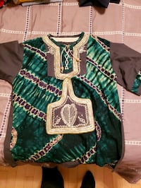 green and white dashiki Carpentersville, 60110
