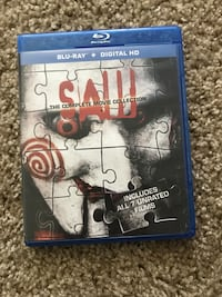 Complete collection of SAW blu ray Liverpool, 13088