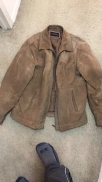 Men's jacket leather