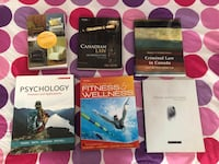 First year university law text books. $400 for all. For individual costs, feel free to message.