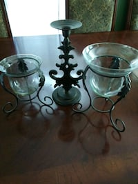 Set of Three Candle Holders, all for $20 San Antonio, 78228