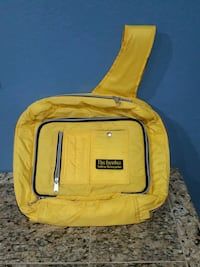 yellow and black backpack with bag Phoenix, 85027