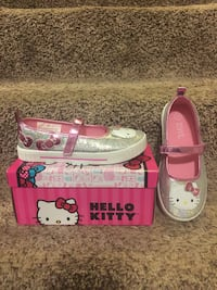 Silver and pink hello kitty size 13 shoe Springfield, 22153