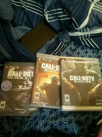 three assorted Sony PS3 game cases Pittsburgh, 15221