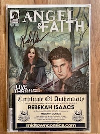 Angel & Faith comic #1 autographed Fort Belvoir, 22060