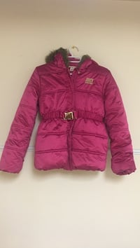 Red zip-up bubble jacket Juicy  couture kids number 8/10 Troy, 48085