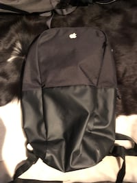 Apple Incase black laptop backpack
