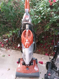 red and black upright vacuum cleaner Tempe, 85283