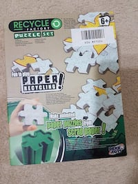 Recycle factory puzzle set  Surrey, V3R