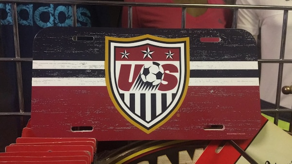 USA Car Tag Support your national team