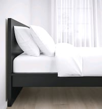 Bed Frame, Therapeutic mattress & Nightstands