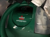 green and gray canister vacuum cleaner Townsend, 19734