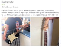 Full Size Electric Guitar