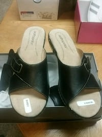 shoes want me black new size 9 1/2 wide Ivyland, 18974