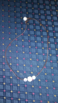 Twine & Pearl Necklace