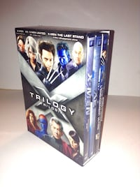 Marvel X-Men Trilogy DVD 3 Disc Set Widescreen Bilingual English and French