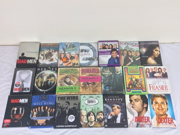 DVD Box Sets Various TV Shows Seasons $5 each dcfbe54e-1776-48d3-a822-c7047cec692d