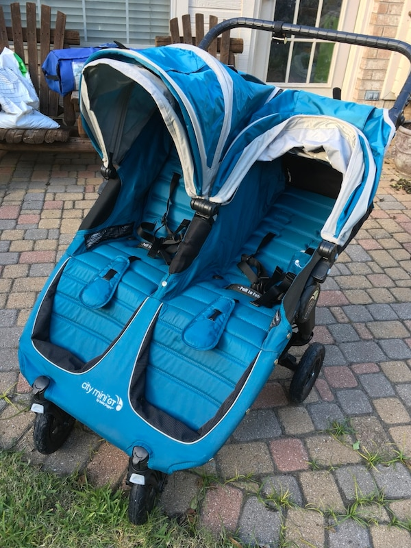 Baby Jogger City Mini Gt Double Stroller In Teal A